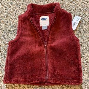 Baby Girl Fleece Vest